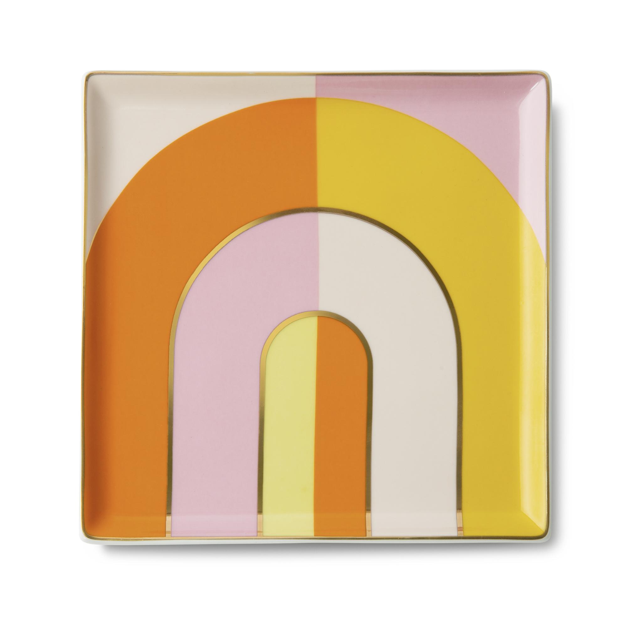 OCTRAO-20 - Ceramic Tray Riviera Arch Orange