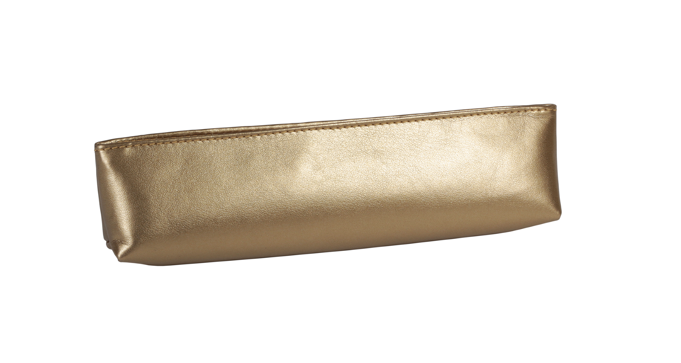 A4104-G - GOLD Pencil/Accessory Pouch with Zipper