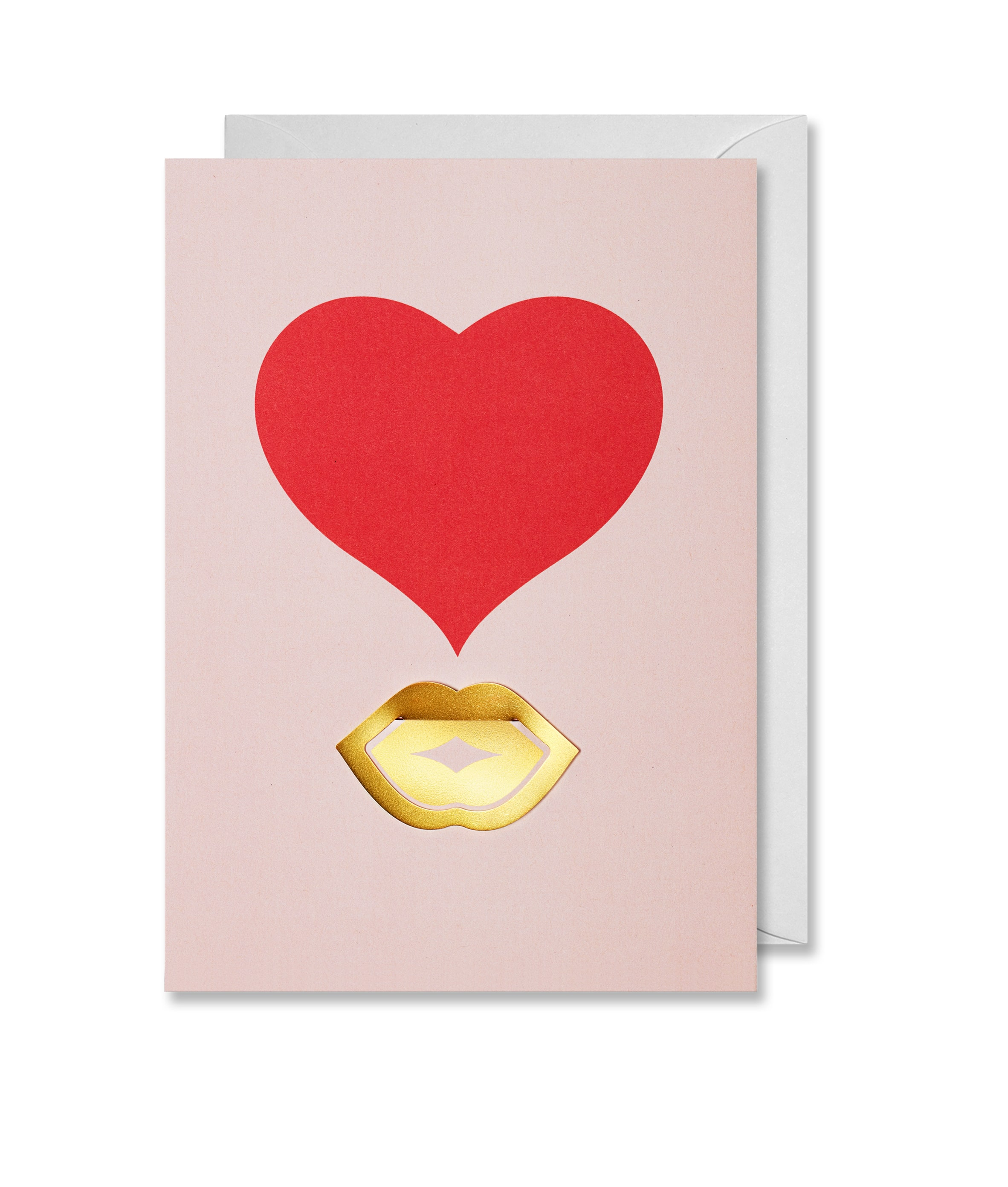 Greeting Card Kiss