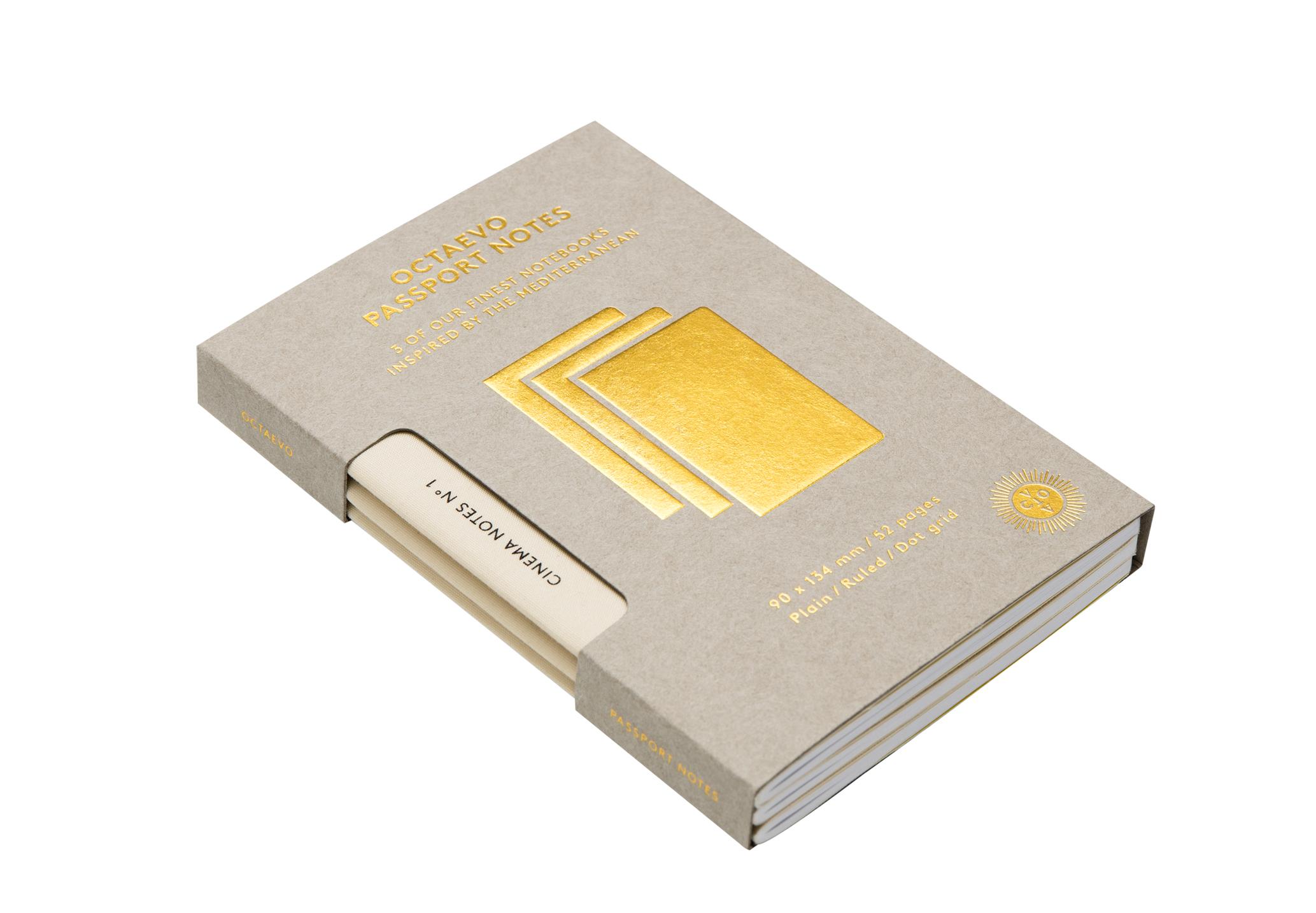 Passport Cinema Notes Box Of 3