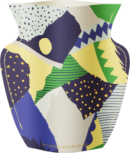 Mini Paper Vase Stromboli
