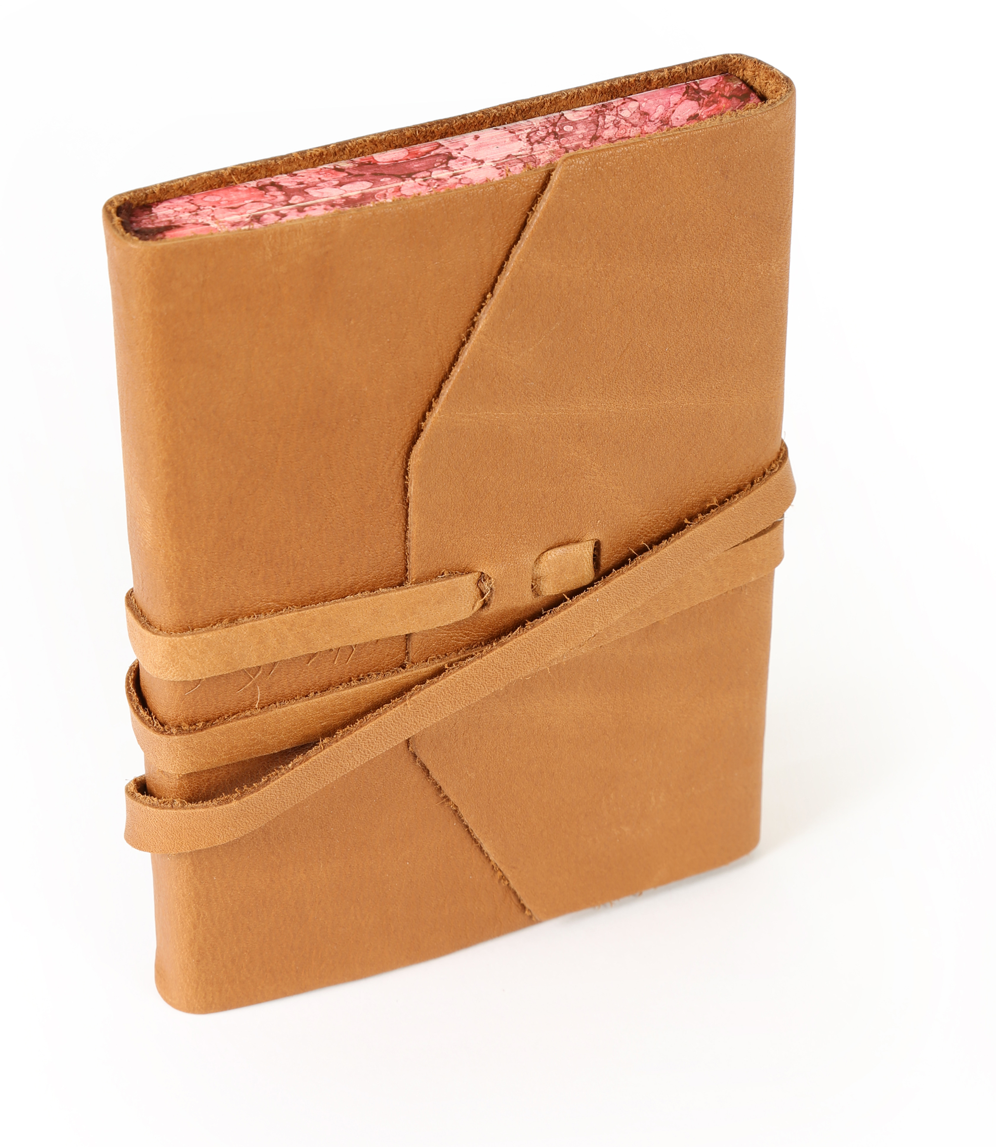 Genuine Leather Journal with Tie