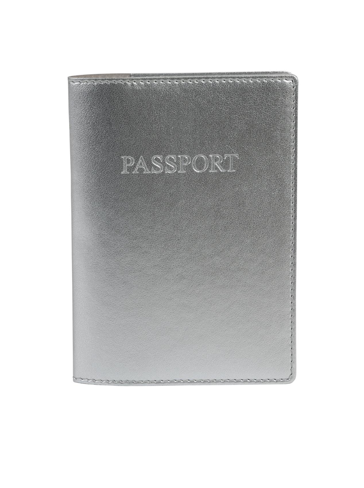 A4102-S - SILVER Passport Holder