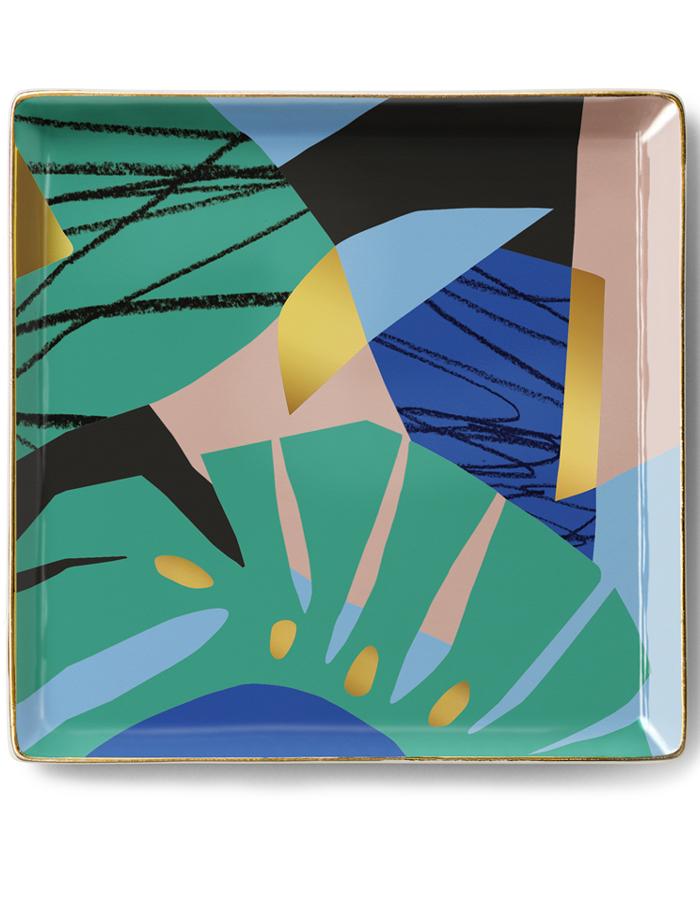Ceramic Tray Capri I