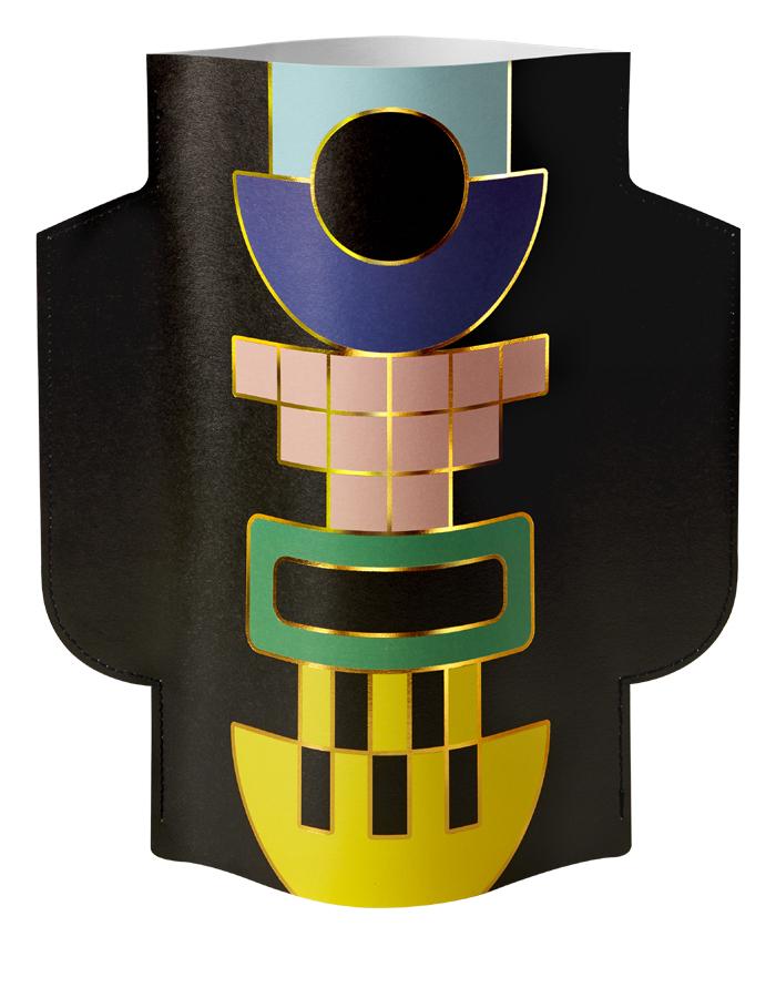 Paper Vase Templo