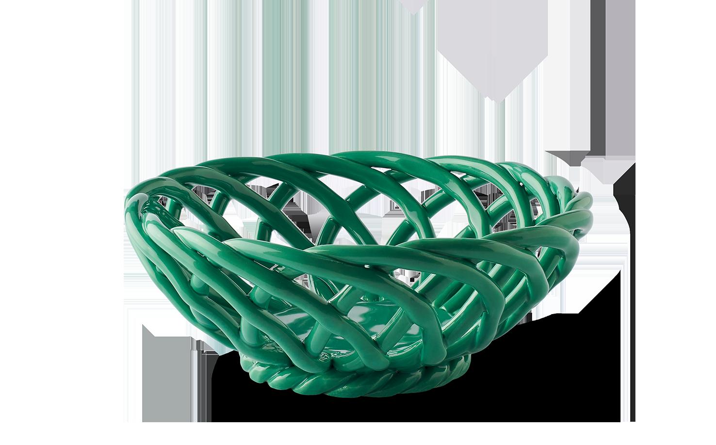 Sicilia Ceramic Basket Small