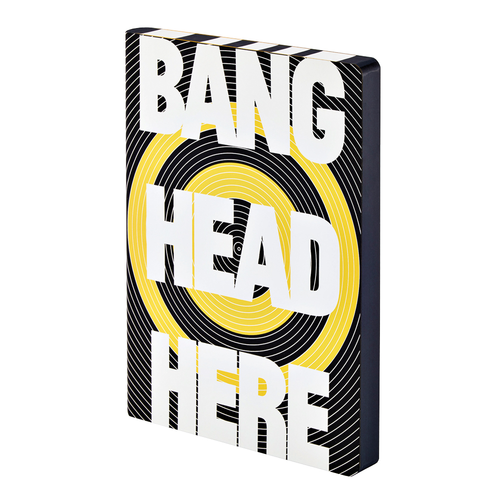 Bang Head Here - Graphic L