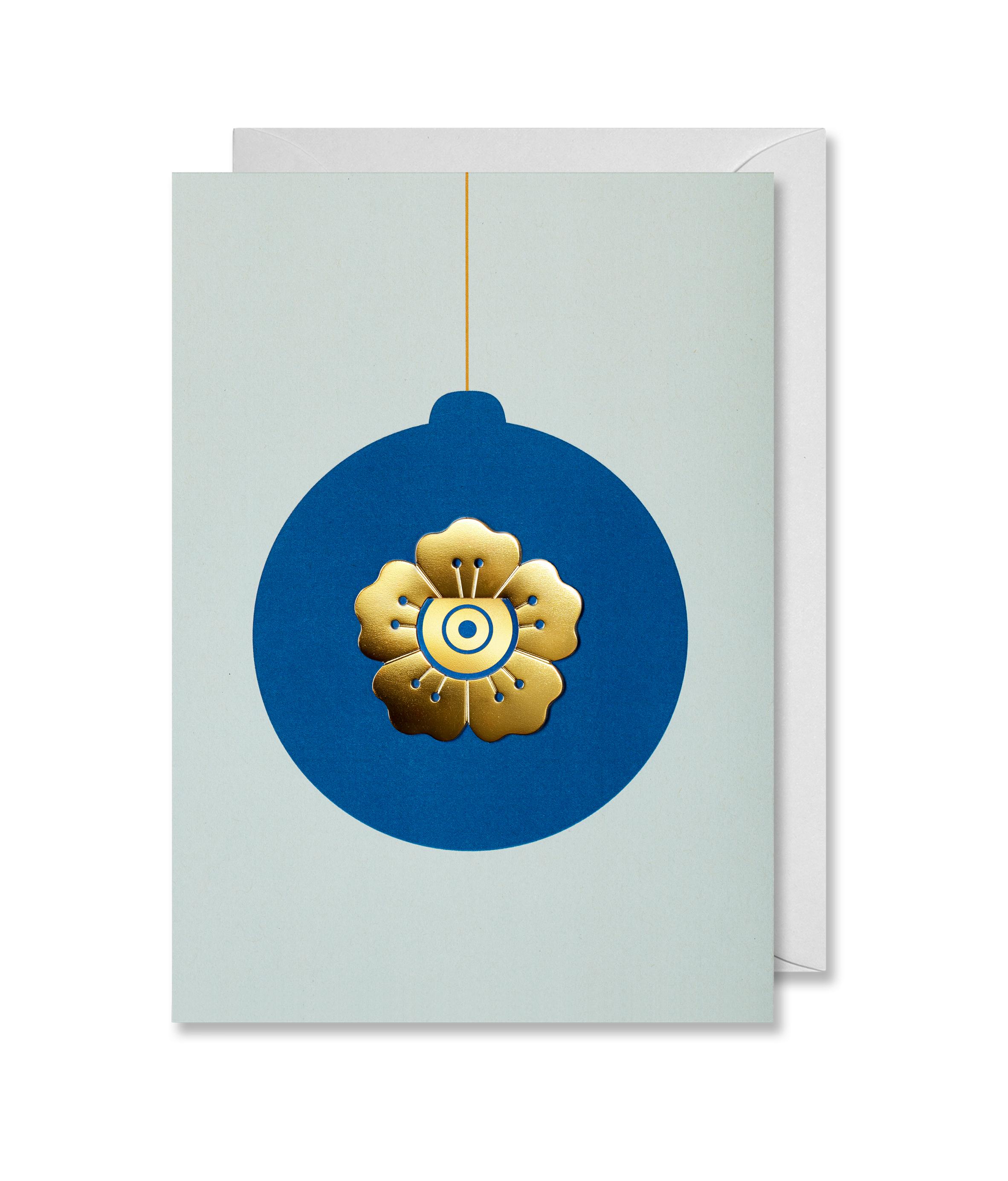 Greeting Card Christmas Flower