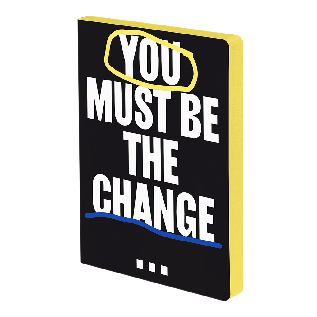 You Must Be The Change - Graphic L