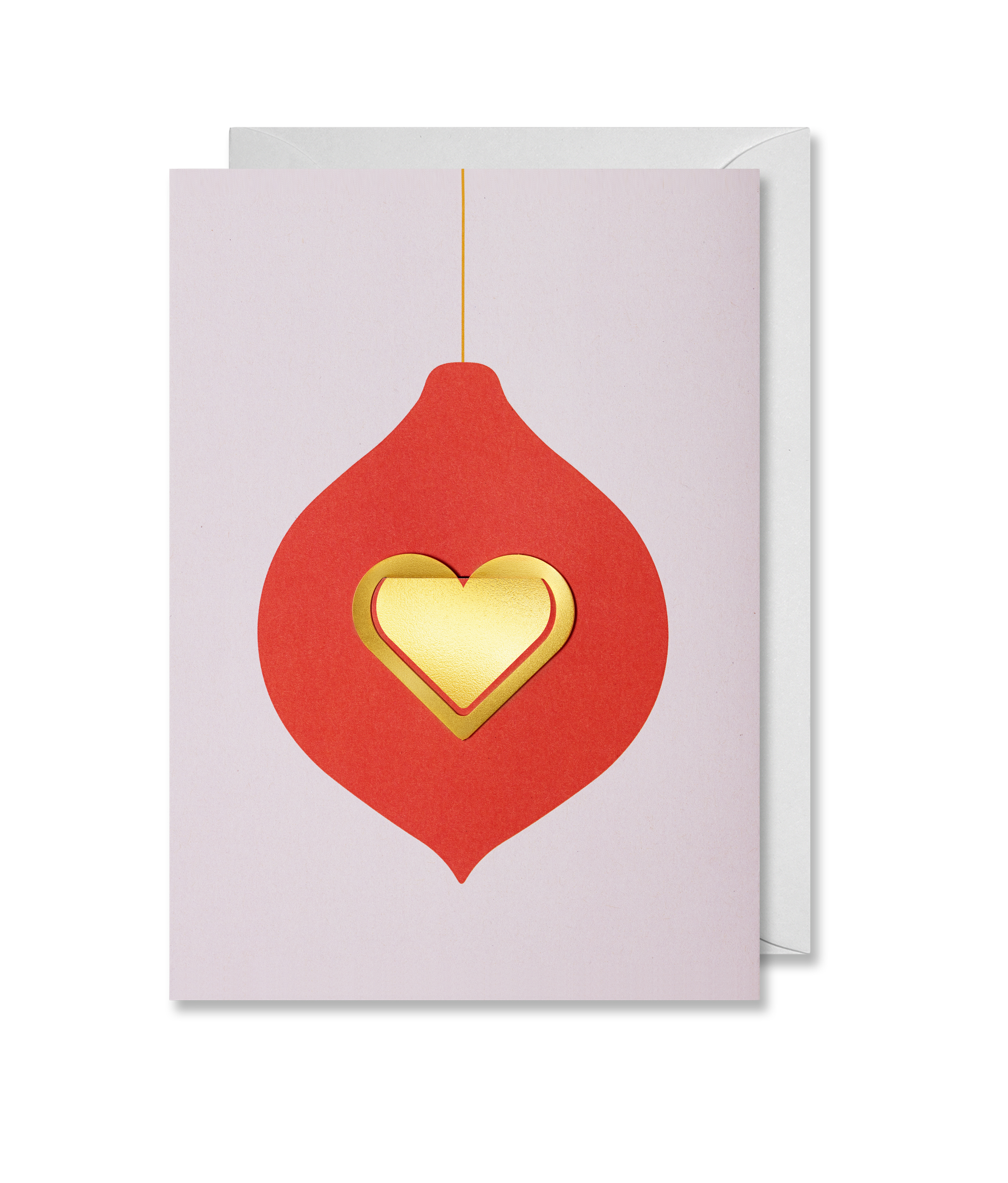 Greeting Card Christmas Heart