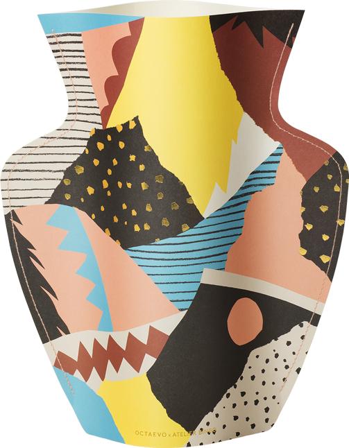 Paper Vase Vesuvio