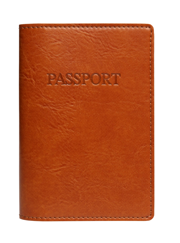 Bi-Color Passport Cover