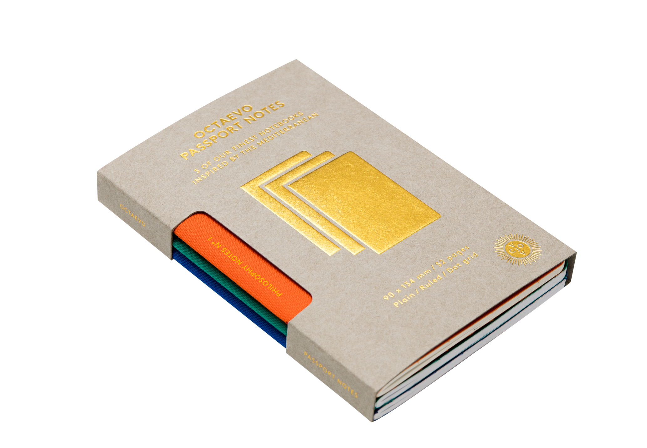 OBPPN-15 - Passport Philosophy Notes Box Of 3