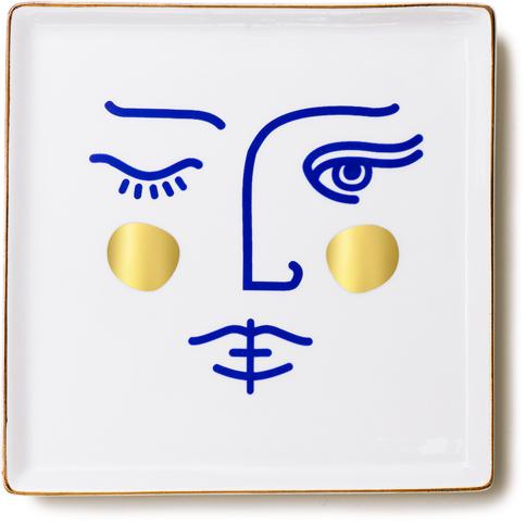 Ceramic Tray Janus Goddess