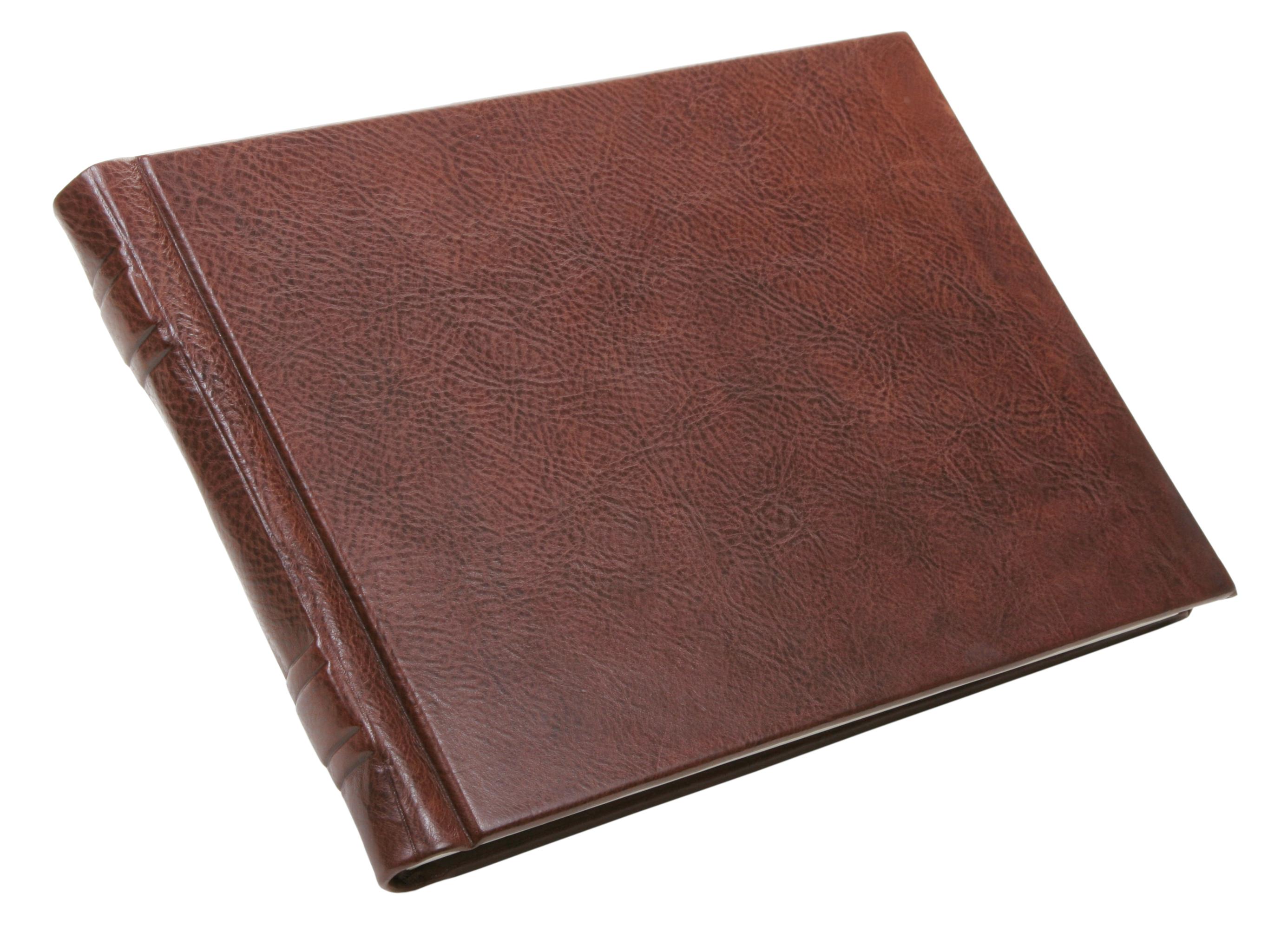 Leather Landscape Book