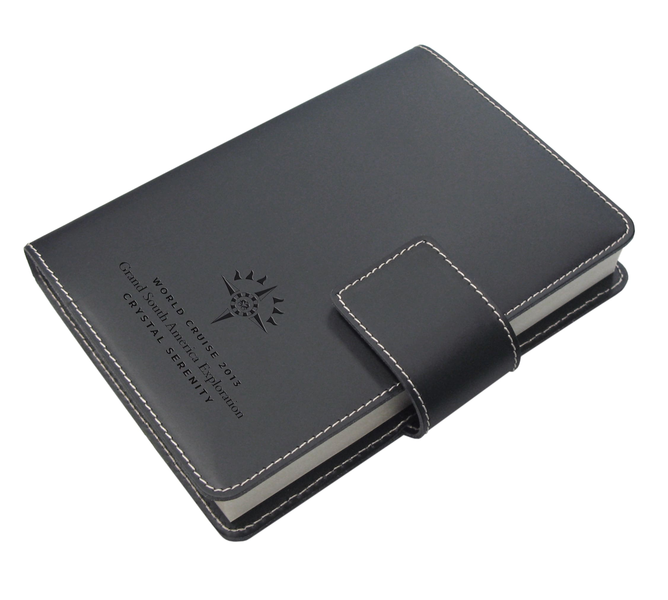 Refillable Journal with Snap